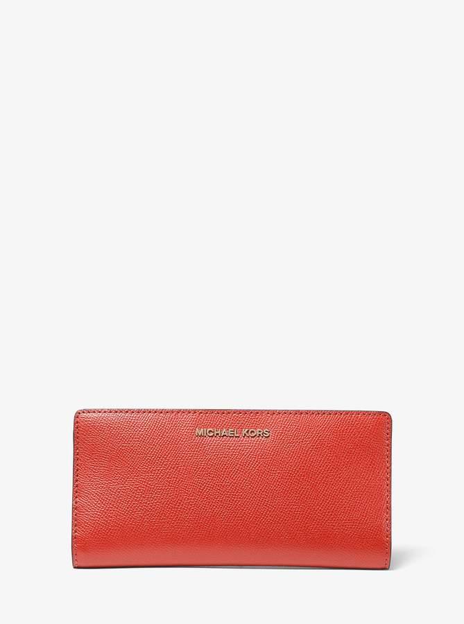 ed62fc7e1239 Michael Kors Saffiano Wallet - ShopStyle