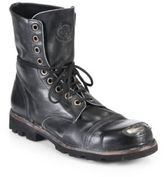 Diesel Hardkor Steel Lace-Up Boots