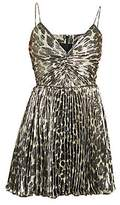 Saint Laurent Women's Pleated Mini Dress