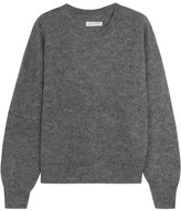 Etoile Isabel Marant Clifton Mohair-blend Sweater - Gray