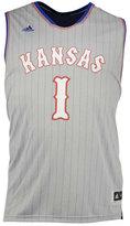 adidas #1 Kansas Jayhawks Replica Pride Basketball Big & Tall Jersey