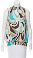 Emilio Pucci Printed Sleeveless Top w/ Tags