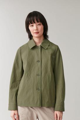 Cos Cotton-Mix Overshirt