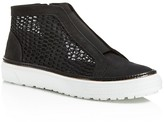 Delman Mesh and Nubuck Sneakers