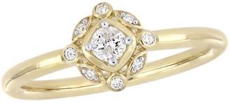 Stella Grace 10k Gold 1/6 Carat T.W. Diamond Ring