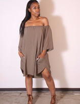Tysa Senorita Mini Dress In Olive