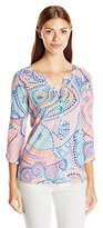 Lilly Pulitzer Women's 23185 : Egret Top