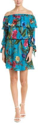 Parker Alexis Silk-Blend A-Line Dress