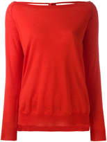 P.A.R.O.S.H. cashmere open back sweater