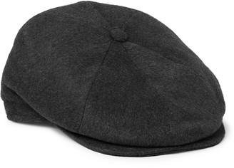 Borsalino Cashmere Flat Cap