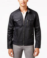 INC International Concepts Men's Metalcore Moto Jacket, Only at Macy's