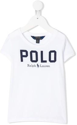 Ralph Lauren Kids logo print T-shirt