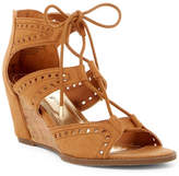 Madden-Girl Rally Cutout Wedge Sandal