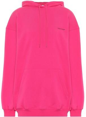 Balenciaga Cotton-jersey hoodie