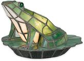 Quoizel Tiffany Green Frog Table Lamp