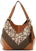French Connection Cruz Faux Leather Tote