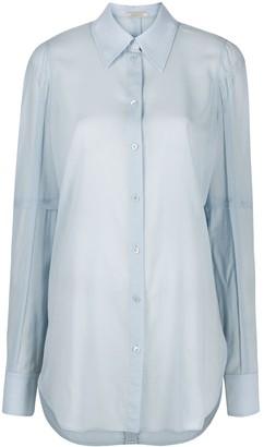 Nina Ricci Longline Classic Collar Shirt