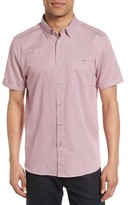 Ted Baker Men's Silamor Slim Fit Geo Print Sport Shirt