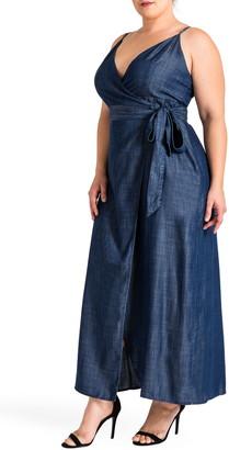 Standards & Practices Jodi Wrap Maxi Dress