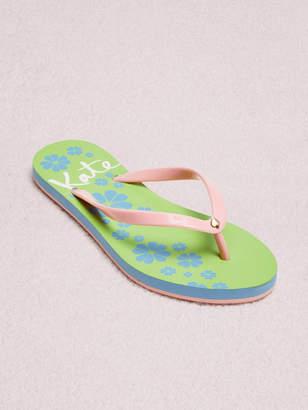 Kate Spade natal flip-flop sandals