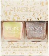 Nails Inc. nails inc. Trend Duo Champagne Shine Nail Polish Duo 2 x 14ml