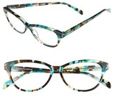 Corinne McCormack Women's 'Marge' 52Mm Reading Glasses - Tort/ Turquoise