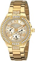 GUESS GUESS? Women's U0111L2 Stainless-Steel Analog Quartz Watch