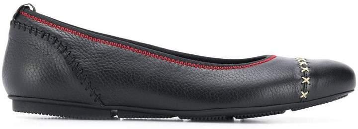 Hogan flat ballerina shoes
