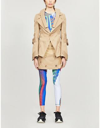 Junya Watanabe Deconstructed twill trench coat