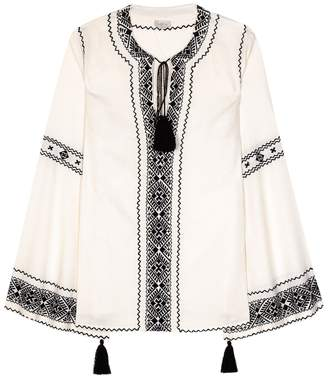 Talitha Collection Embroidered blouse