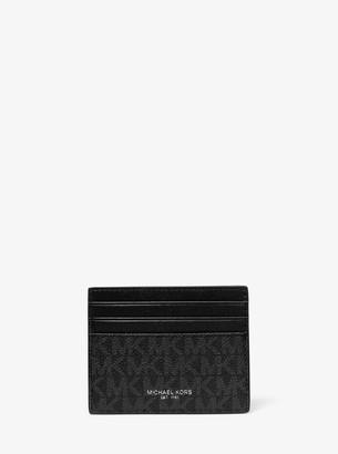 Michael Kors Greyson Logo Tall Card Case
