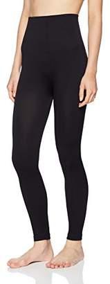 FM London Women's High Waisted Shaper Leggings,(Manufacturer Size: X-Large)