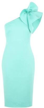 Eliza J One Shoulder Bodycon Dress