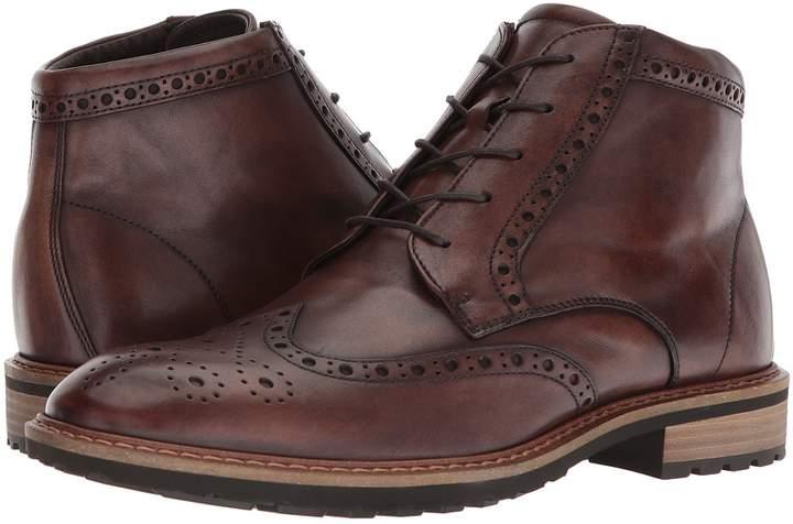 Ecco Vitrus I Wingtip Boot Men's Dress Lace-up Boots