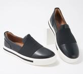 Clarks Leather Slip-Ons - Un Maui Step