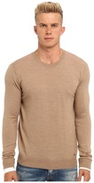 DSQUARED2 Runway Wool Crewneck Sweater