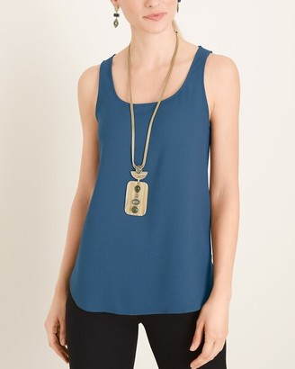 Chico's Marla Wynne for Crepe Tank