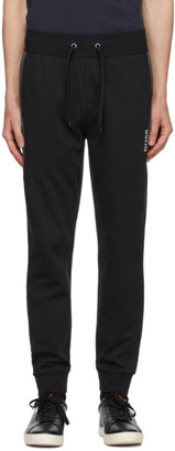 BOSS Black Cotton Lounge Pants