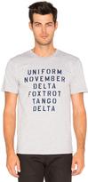 Undefeated Military Alphabet Tee