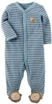 Carter's Baby Boy Striped Terry Sleep & Play