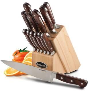 Cuisinart 14 Piece Pakkawood Knife Block Set