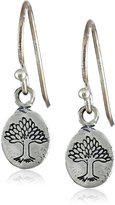 "Satya Jewelry Classics"" Nurturing Earth Drop Pendant Earrings"