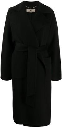 Elisabetta Franchi Belted Mid-Length Coat