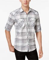 INC International Concepts Men's Plaid Shirt, Only at Macy's