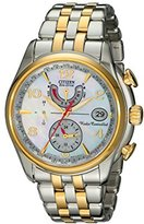 """Citizen Women's FC0004-58D """"World Time A-T"""" Stainless Steel Eco-Drive Watch"""