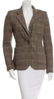 Rachel Zoe Structured Plaid Blazer