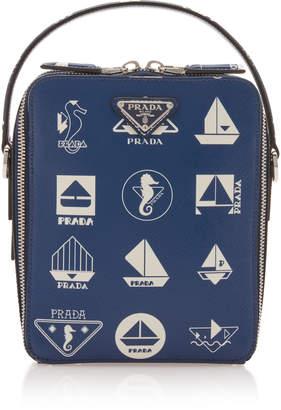 Prada Nautical Leather Crossbody Bag
