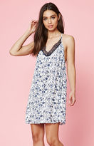 KENDALL + KYLIE Kendall & Kylie Lace Trim Tie Back Dress