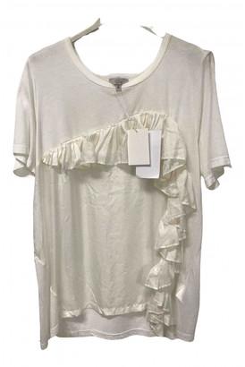 Clu White Silk Top for Women