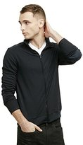 Kenneth Cole New York Kenneth Cole Men's Long Sleeve Full Zip Mock